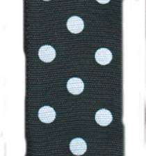 black and white polka dot ribbon polka dot ribbon black with white dots wholesale