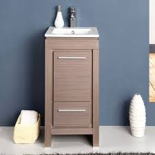 Shallow Bathroom Cabinet Narrow Bathroom Vanities With 8 18 Inches Of Depth