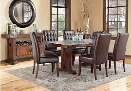 shop for a mabry brown 5 pc dining room at rooms to go find
