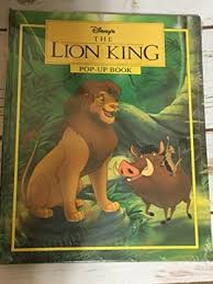 disney u0027s lion king pop book walt disney atelier