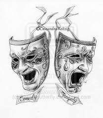 22 best comedy tragedy masks images on pinterest death tattoo
