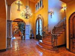 spanish hacienda style homes gorgeous spanish hacienda styled home featuring a tiled entry