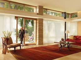 kitchen window treatment ideas for sliding glass doors in curtain