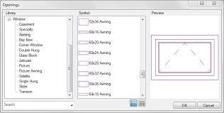 Awning Window Symbol Softplan Home Design Software Openings