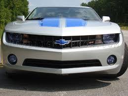 light blue camaro 10 13 chevrolet camaro headlight signals fog light protection kit