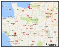 Nantes France Map by July 2016 Andy U0027s Blog