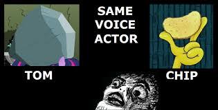 Actor Memes - mind blown same voice actor know your meme