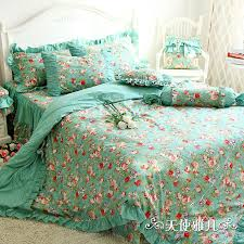 designer mint green bedding set elegant american country style