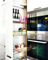 pull out tall kitchen cabinets pull outs for kitchen cabinets s s side pull out shelves kitchen