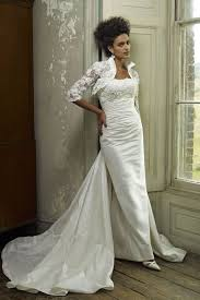 Wedding Dress Jackets Graceful Stand Collar Half Sleeves Lace Wedding Dress Jacket