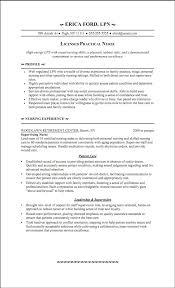 new nurse resume template lpn templates