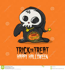 halloween trick or treat costume stock vector image 59419314