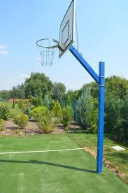 Backyard Basketball Court Ideas by 11 Best Sports Court Images On Pinterest Backyard Ideas