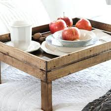 breakfast in bed table bed trays breakfast in bed tray handmade by the wood grain cottage