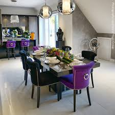 Purple Dining Chairs Products Lily Grace Interiors