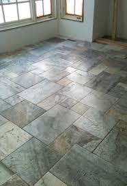 picasso travertine floor arranged in a versailles pattern home