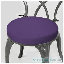 Outdoor Patio Tables Only Round Garden Chair Cushion Pad Only Waterproof Outdoor Bistro