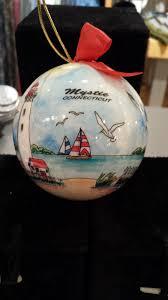 mystic ct christmas ornament