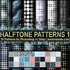 pattern newspaper photoshop halftone 1 pattern set for photoshop or gimp texturemate com