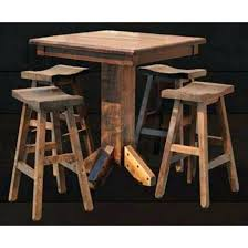 rustic pub table and chairs rustic pub tables rustic bar table ideas chronicmessenger com
