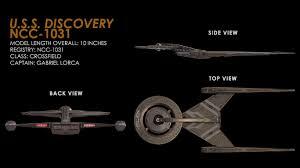 eaglemoss launches star trek discovery model starship