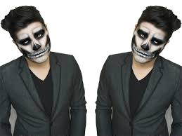 Halloween Makeup Man Traditional Skull Makeup Tutorial Alex Faction Youtube