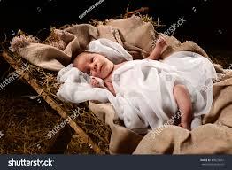 baby jesus when born on manger stock photo 329635847 shutterstock