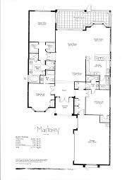 floor plans for one homes monterey luxury gold course house floor plan gif 1275 1650
