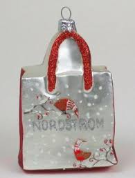 santa ornament sitting on wallet w sleigh licence credit cards