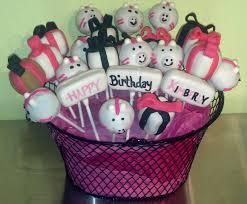 cake pop bouquet birthday cake pop bouquets