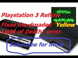 ps3 yellow light of death fix playstation 3 yellow light of death repair youtube