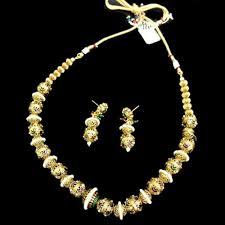 gold pearl necklace sets images Joypuri gold pearl necklace set 014 ze shop bd jpg