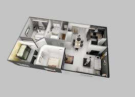Simple 2 Bedroom House Plans by 25 Two Bedroom House Apartment Floor Plans