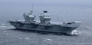 britain u0027s new aircraft carrier starts sea trials defense news