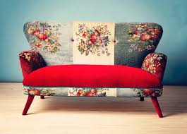 canapé original coloré design colore