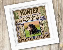 pet memorial gifts dog memorial gift personalized custom printable in loving memory