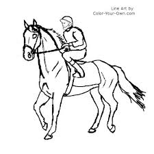 walking racehorse coloring p on spirit horse coloring pages ebcs