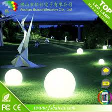 Ball Solar Lights - ip68 waterproof color changing led beach ball light led round