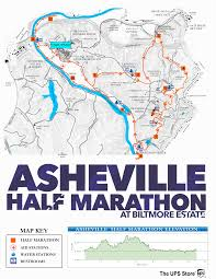 Boston Marathon Route Map by Half Course Description Asheville Marathon
