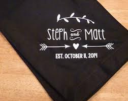 personalized wedding blanket custom blanket etsy