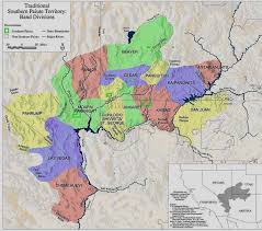 Indian Tribes North America Map by Paiute Indian Tribe Of Utah