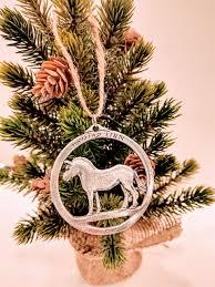 bestemorsimports norwegian pewter horse ornament