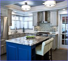 Kitchen Flush Mount Ceiling Lights Magnificent Led Flush Mount Kitchen Lighting 5 Fivhter Inside