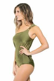 designer tankini tina swarovski one shoulder tankini top beachcandy swimwear by britb