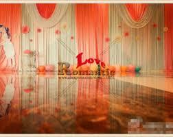 Curtain Drapes For Weddings Wedding Curtain Etsy