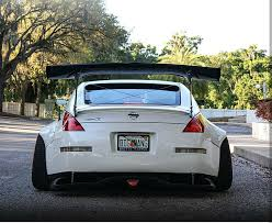 used nissan 350z nissan 350z widebody fender flares