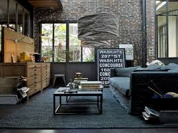 bedroom industrial interior design living room steampunk