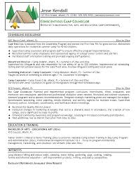 cover letter camp counselor gallery cover letter sample