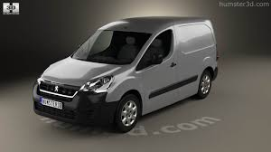 peugeot partner van 360 view of peugeot partner van 2015 3d model hum3d store