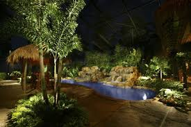 Outdoor Backyard Lighting Outdoor Landscape Lighting In Orlando Daytona Fl